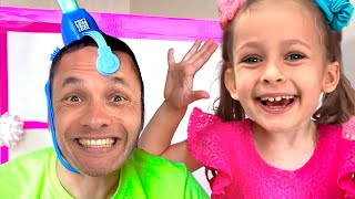 Kids Song about Games and Toys + More Songs for children by Maya and Mary