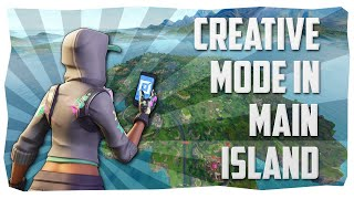 (EASY) Fortnite ✈️ Go To *MAIN ISLAND* In Creative Mode - PS4, PC, Xbox ✈️ Latest Patch