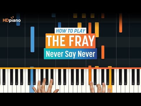 """""""Never Say Never"""" by The Fray   HDpiano (Part 1)"""