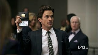 White Collar - Neal Caffrey Impersonates Peter Burke