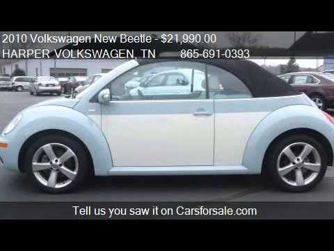 2010 Volkswagen New Beetle Final Edition Convertible For S