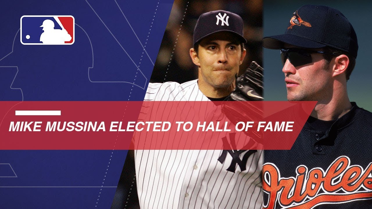 Watch Mussina's career highlights after HOF election