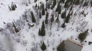 Квадрокоптер DJI Phantom 4, Ловозеро, Мурманск 4 часть