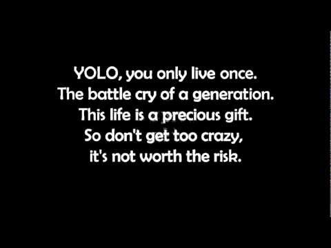 The Lonely Island - YOLO (LYRICS)