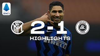 Inter 2-1 spezia   highlights serie a tim 2020/21highlights from the fixture between and on matchday 13 of 2020/21 that finish...