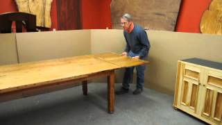 Self Storing Table Leaf Video.