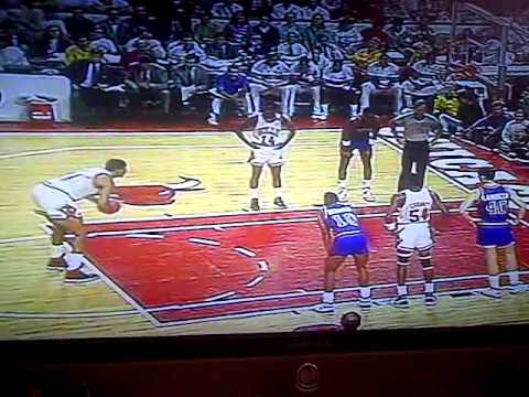 Bill Cartwright Free Throw