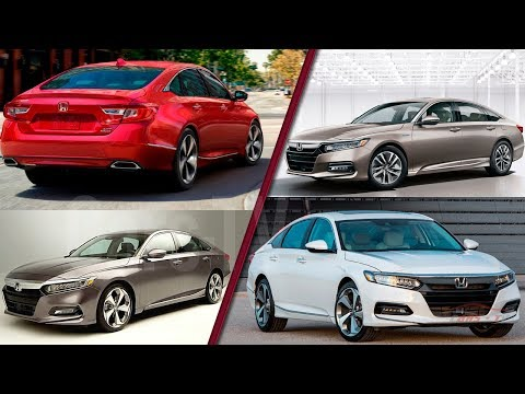 2018 Honda Accord Official Models, Colors And Release Dates! Ready To Fight Toyota Camry