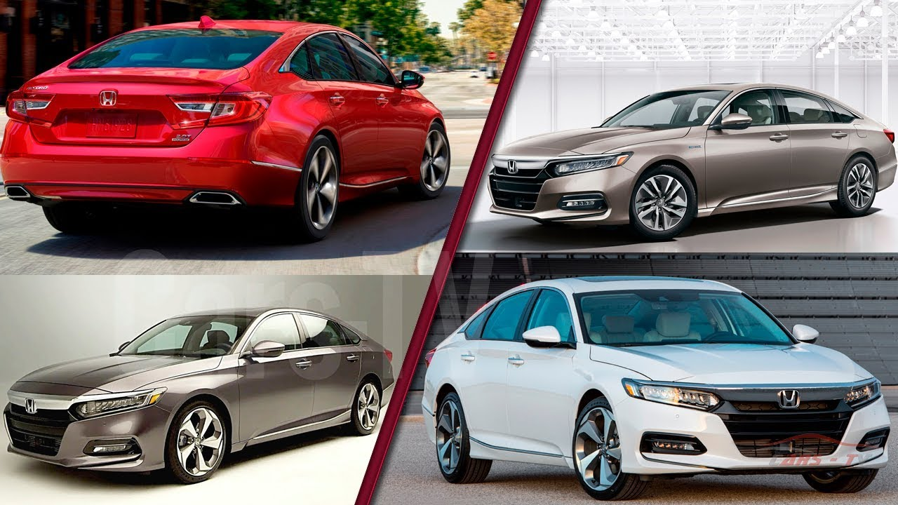 2018 Honda Accord Official Models Colors And Release Dates Ready To Fight Toyota Camry