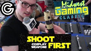 Shoot First Cosplay Weapons | MGC 2017