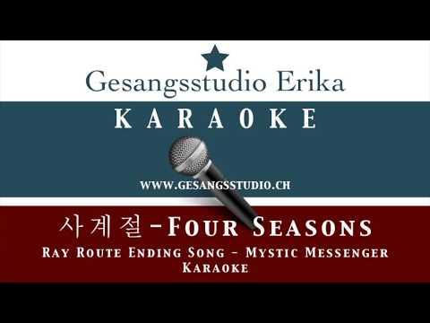 사계절 Four Seasons / Ray Route Ending Song / Mystic Messenger / Karaoke