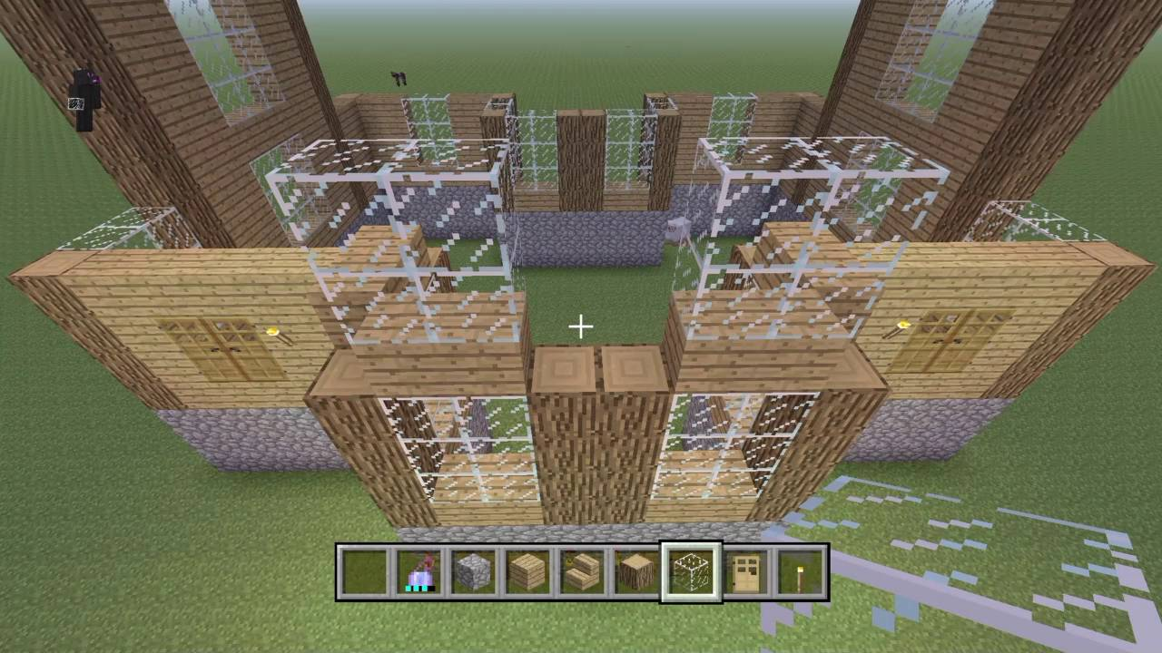 Minecraft: Construction Booklet Building Wooden House Tutorial #11