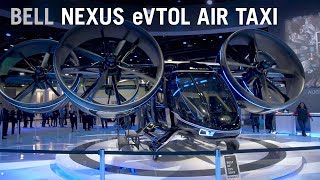A deep dive into Bell's Nexus eVTOL Air Taxi Aircraft of the Future – AINtv