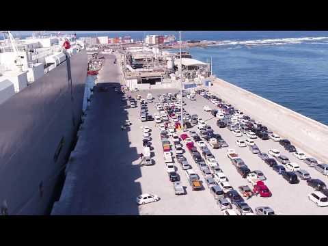 Terminal Molo Puerto de Iquique reanudo sus operaciones tras terremotos  2014