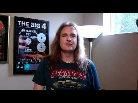 Megadeth David Ellefson New Year wishes to Iranian fans