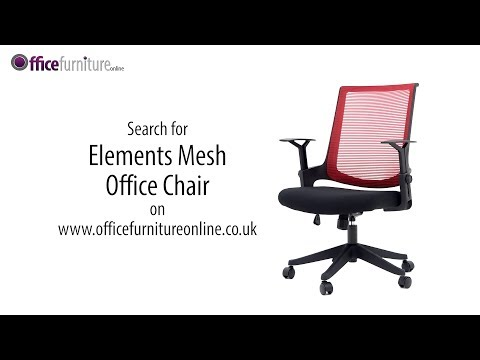 Elements Mesh Office Chair - Features And User Guide