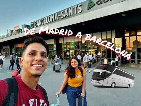 De MADRID A BARCELONA En Bus (nuestra Experiencia)