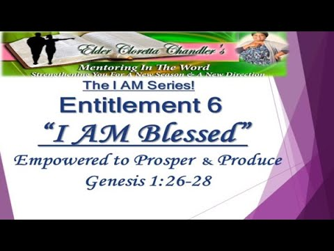 The I AM Series, Entitlement 6 -