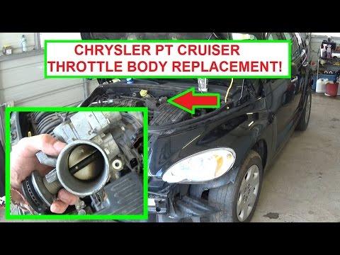 04 05 06 07 08 09 10 2006 CHRYSLER PT CRUISER THROTTLE BODY 2.4L