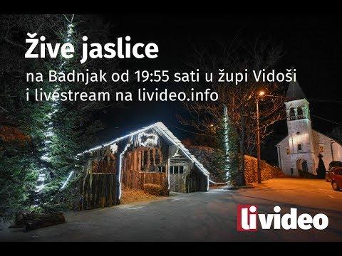 Žive jaslice - Vidoši 2017.