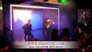 Magic Mike New York City Male strip club Hunk-O-Mania