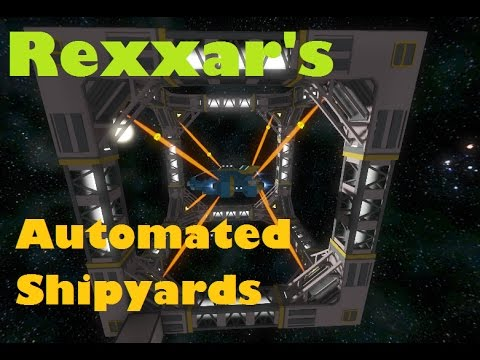 Rexxar's Automated Shipyards mod guide