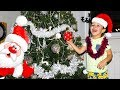 Christmas Tree decorating Family Fun Playtime Jingle Bells Kids songs Christmas songs for Children