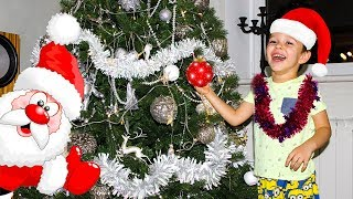 Christmas Tree decorating Family Fun Playtime Jingle Bells Kids songs Christmas songs for Children