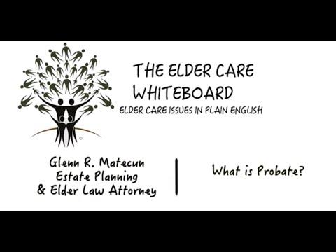 What is Probate?  | Glenn Matecun | Michigan Probate Attorney