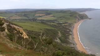Golden Cap, Chideock, Dorset.