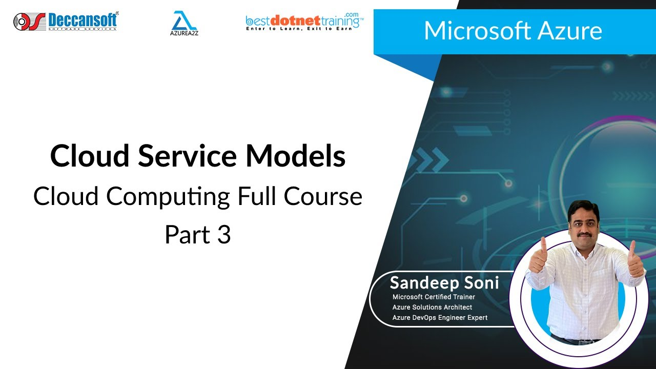 Cloud Computing Tutorial For Beginners 3 Cloud Service Models