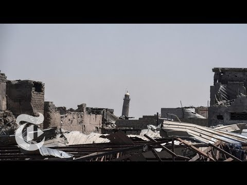 Video Refutes ISIS Claim That U.S. Blew Up Mosque   The New York Times
