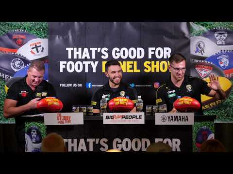 Aussie Rules That's Good for Footy post Round 1 Richmond show 10th March 2021