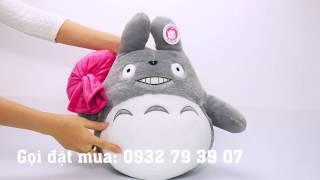 Gấu bông King Totoro cầm túi