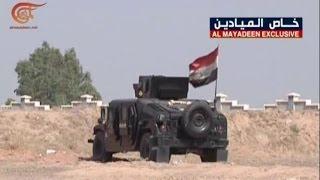 القوات العراقية تواصل  هجومها على مختلف جبهات الفلوجة     6-6-2016
