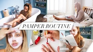 MY AT-HOME PAMPER ROUTINE | ad | Samantha Maria