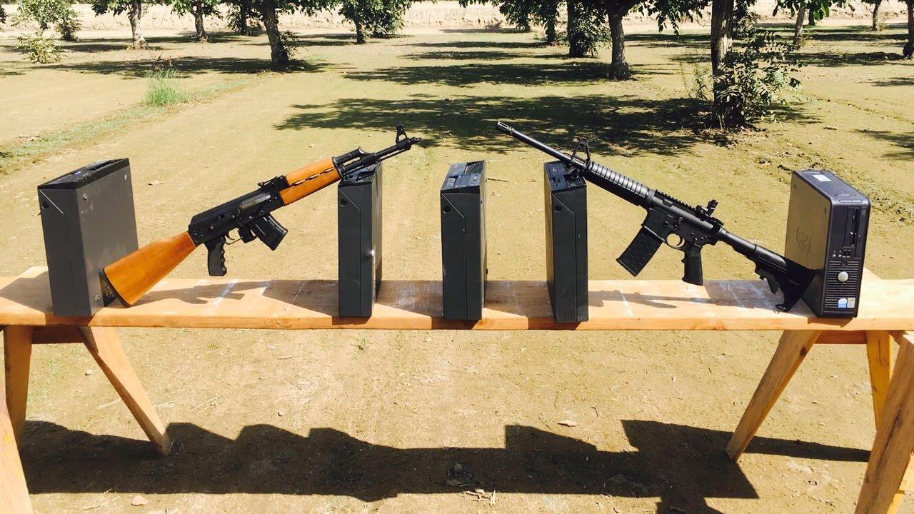 Download AR-15 VS AK-47   762 vs 556