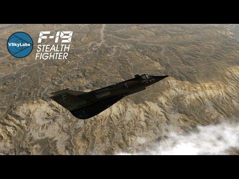VSKYLABS F-19 Stealth Fighter addon for X-Plane 10
