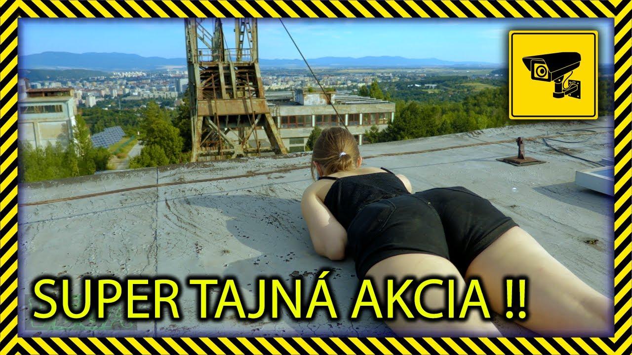 Banský výťah - Baňa Bankov Košice [ TAJNÁ MISIA ]