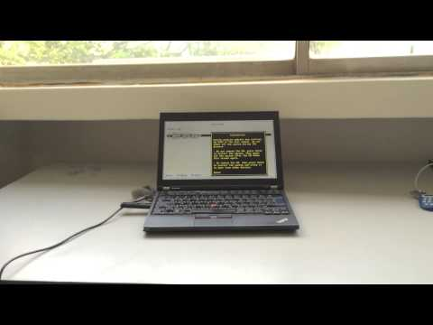 X220 BIOS Update With Archlinux