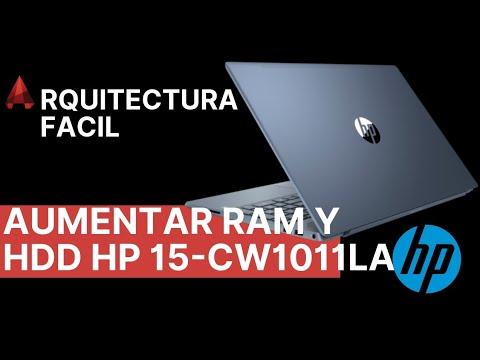 AUMENTAR MEMORIA RAM Y PONER DISCO DURO HP PAVILION 15-CW1011LA
