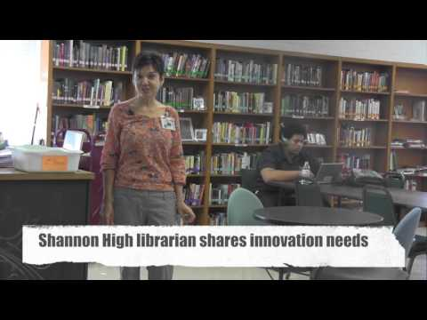 Shannon High School Library Creative Spaces Grant