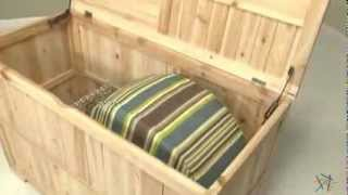 Concord Cedar Deck Box - Product Review Video