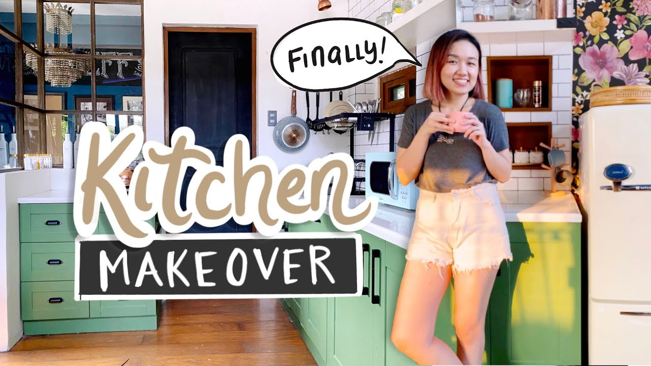 My Small Kitchen Makeover 😍 // Coffee Shop Feels ☕️   *Fresh New Look*