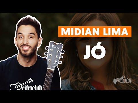 JÓ  - Midian Lima  completa  Como tocar no violão