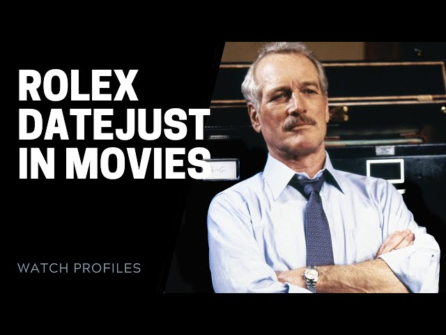 Rolex Datejust Watches in Movies | SwissWatchExpo