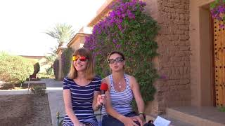 Maxi & Ameli Rally Oilibya  Morocco 2017 Prologue