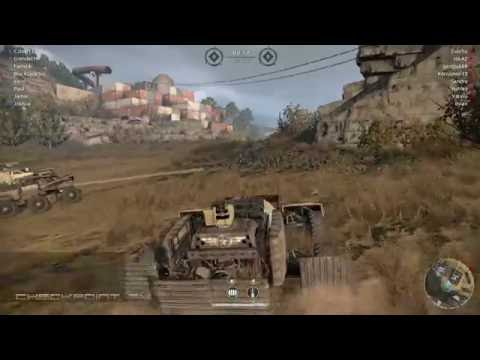 Crossout Preview Gameplay #13 - So I Built A New Cannon Pickup