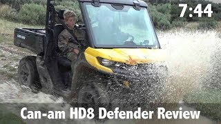 Can am HD8 Defender Review