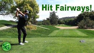 How to Hit Fairways when your Golf Swing is Off